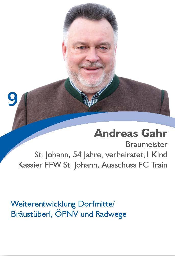Andreas Gahr