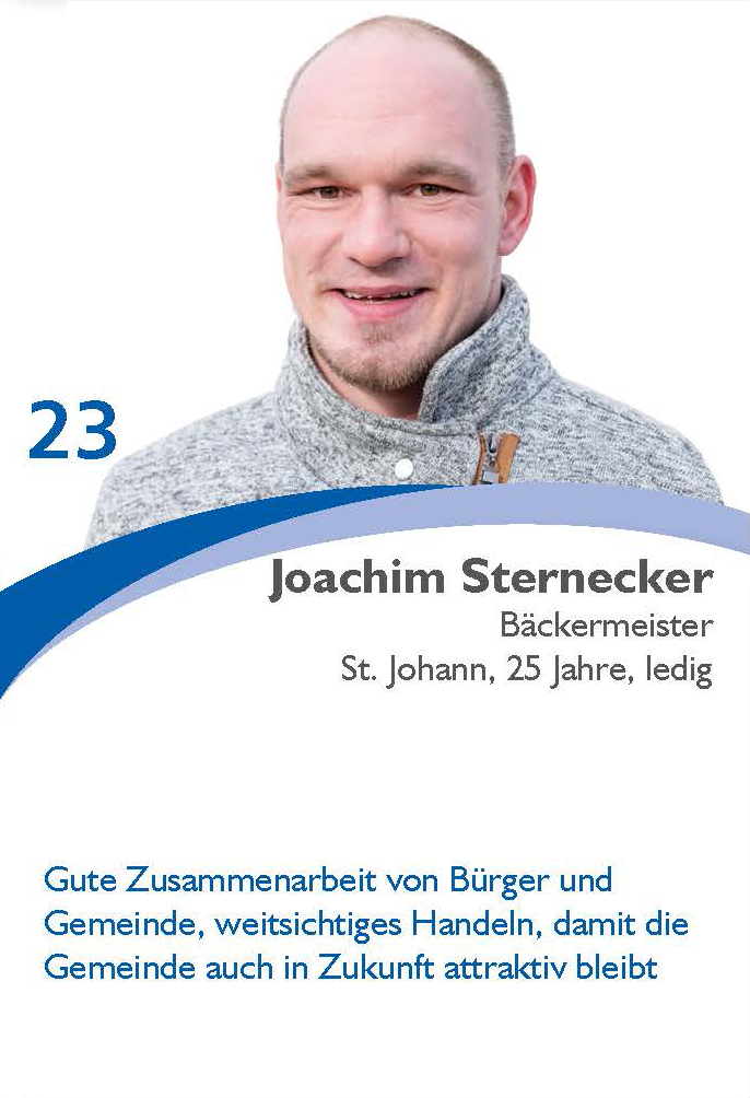 Joachim Sternecker